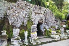 Entrance to Gua Gajah, Bali, Indonesia. Image of the entrance to Gua Gajah (Elephant Cave), Bali, Indonesia Royalty Free Stock Photography