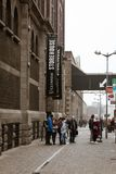 Entrance to Guinness Storehouse, the brewery experience telling the tale of Ireland`s famous beer on St James`s Gate. April 12th, 2018, Dublin, Ireland Stock Photos