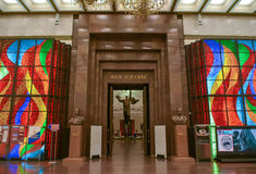 Entrance to Hall Royalty Free Stock Image