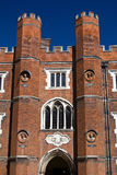 Entrance to the Hampton Court Royalty Free Stock Photography
