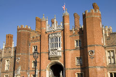 Entrance to Hampton Court Palace Royalty Free Stock Image