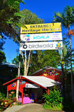 The entrance to the Heritage Markets in Kuranda Queensland Austr Royalty Free Stock Images