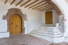 Entrance to hermitage. Stock Photos