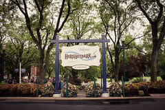 Entrance To Hersheypark in Hersey, PA Stock Images