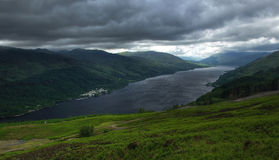 Entrance to Highlands with Loch Earn 2 Royalty Free Stock Photography