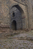 Entrance to hilltop fort at Mandu, India Stock Images