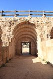Entrance to the Hippodrome, Jerash - Jordan Royalty Free Stock Image
