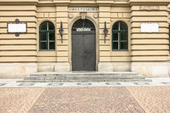 Entrance to historic Building Royalty Free Stock Photography