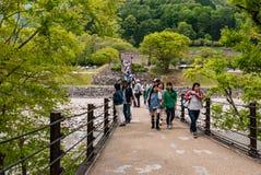 Entrance to Historical village of Shirakawa-go royalty free stock images