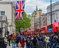 The entrance to horse guard parade in london Stock Photography