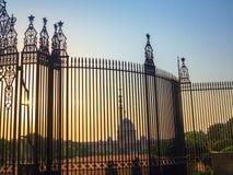 Entrance to House of Parliament, New Delhi Stock Photos
