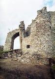 Entrance to the Hrusov ruins, Slovakia Royalty Free Stock Photography