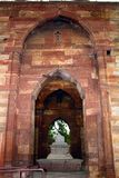 Entrance to Iltumishs Tomb at Qutub Minar, Delhi Royalty Free Stock Image