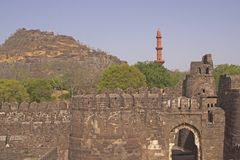 Entrance to Indian Fort Stock Photography