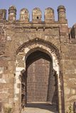 Entrance to an Indian Fort Royalty Free Stock Image