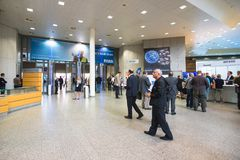 Entrance to Intergeo Royalty Free Stock Photo