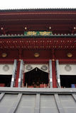 Entrance to Japanese temple. In Nikko Stock Image