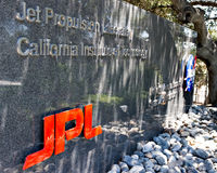 Entrance to Jet Propulsion Lab Stock Images