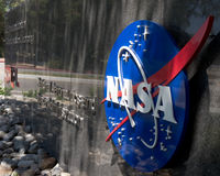 Entrance to Jet Propulsion Lab Royalty Free Stock Image