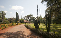 Entrance to Karen Blixen's house, Kenya. Stock Photos