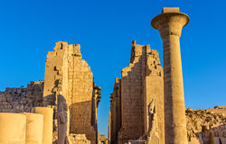 Entrance to the Karnak Temple - Luxor Royalty Free Stock Images