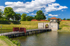 Entrance to Kastellet, a fortress in Copenhagen Stock Images