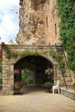 Entrance to Khalil Gibran Museum, Lebanon. Idyllic scene in Lebanon in Khalil Gibran museum, Bcharreh Stock Images