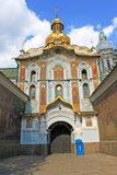 Entrance to Kiev-Pechersk Lavra Royalty Free Stock Images