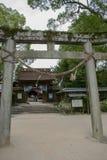 Entrance to the Kikko Shrine stock image