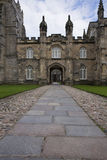 Entrance to King College in Aberdeen, UK Royalty Free Stock Photos