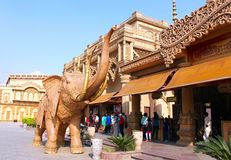 Entrance to Kingdom Of Dreams Stock Image