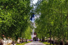 Entrance to the Kirillo-Belozersky Monastery Stock Images