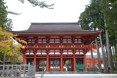 Entrance to Koyasan`s central temple complex Royalty Free Stock Photography