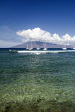Entrance to Lahaina Harbor, Maui, Hawaii Stock Photography