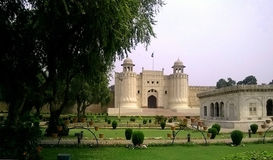 The entrance to Lahore Fort Royalty Free Stock Images