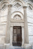 Entrance to the Leaning Tower of Pisa. Entrance Door to the Leaning Tower of Pisa; Italy Royalty Free Stock Image