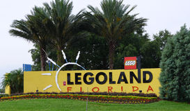 Entrance to Legoland Florida Stock Photos