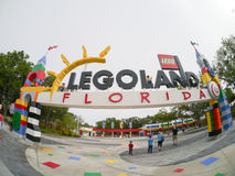 Entrance to Legoland Florida Royalty Free Stock Image
