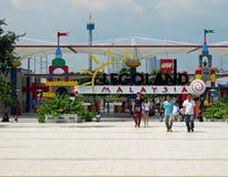 Entrance to Legoland Malaysia Stock Image
