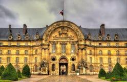 Entrance to Les Invalides in Paris Stock Photos
