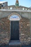 Entrance to the Levon's Underground. Wonder in Yerevan, Armenia Stock Photography
