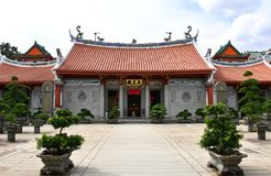 Lian Shan Shuang Lin Temple in Singapore. Stock Images