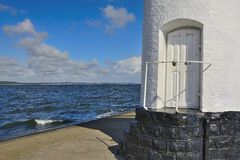 Entrance to the lighthouse Stock Image