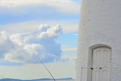 Entrance to the lighthouse Royalty Free Stock Photography