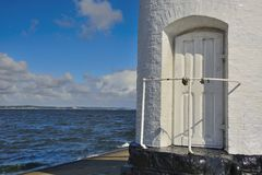 Entrance to the lighthouse Royalty Free Stock Photos
