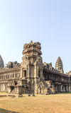 Entrance to the Lotus-like tower, Angkor Wat, Siem Reap, Cambodia. royalty free stock image