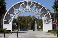 Entrance to Louis Armstrong Park Royalty Free Stock Image