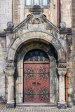 Entrance to the Lutheran Church Royalty Free Stock Photos