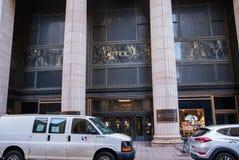 Entrance to the Macy`s store on Market Street in Philadelphia, Pennsylvania stock photos