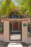 Entrance to mansion Stock Photos